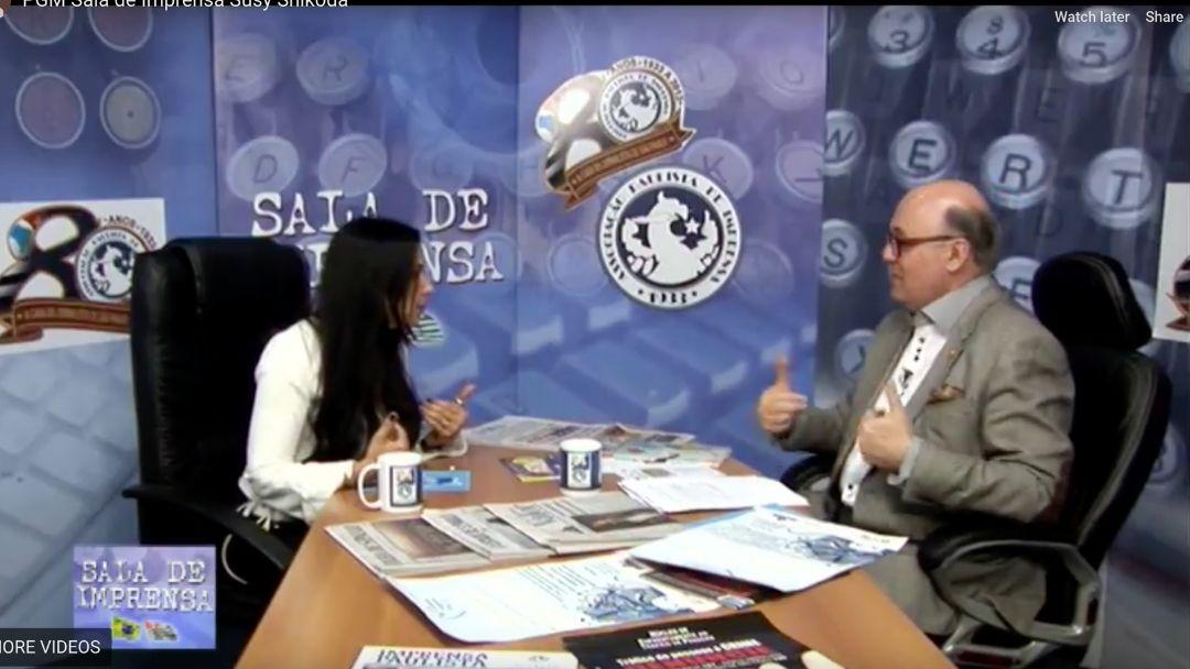 TV Sala de Imprensa – Dr. Sergio Redo